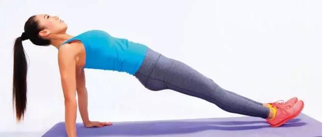 平板支撑,练就腹肌